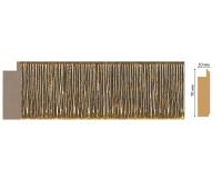 Багет Decomaster 108-17 (размер 70х10х2400)
