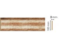 Декоративная панель Decomaster B10-127 (100х9х2400мм)
