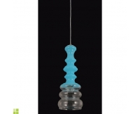 Светильник (Люстра) Crystal Lux BELL SP1 BLUE